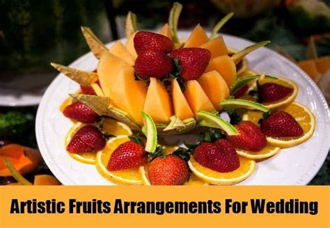 Fruit Tray Ideas For Weddings   How To Make A Decorative