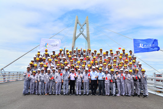HK-Zhuhai-Macau Bridge reaches structural completion - Bridge Design & Engineering (Bd & e)