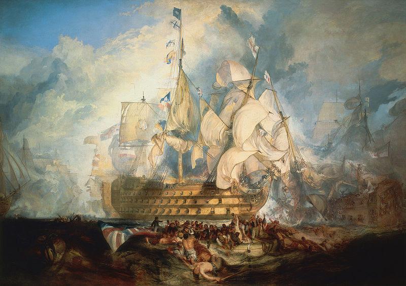 File:Turner, The Battle of Trafalgar (1822).jpg