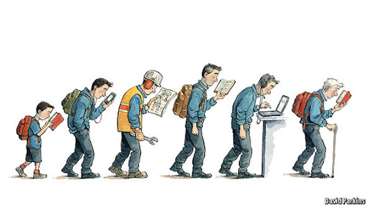 Learning and earning: Equipping people to stay ahead of technological change | The Economist