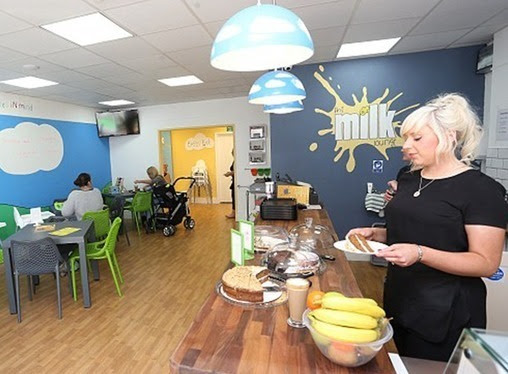 Mom Opens Breastfeeding Lounge: First Purpose Built Breastfeeding Cafe | Parenting Tips n Care