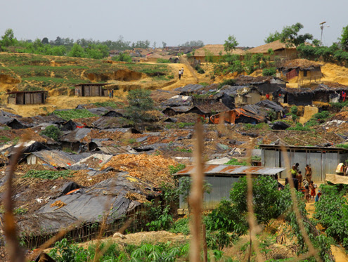Rohingya refugee camp washed out thumbnail
