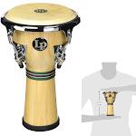 "Latin Percussion LP Music Collection Mini Percussion Djembe, 8 1/4"" Tall"