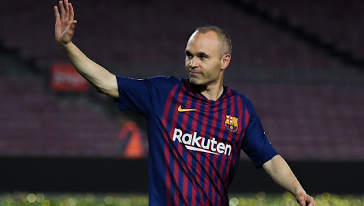 WATCH: Barcelona boss Ernesto Valverde says Andres Iniesta will be talked about long into the future - Article - Sport360