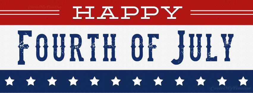 July 4th Happy Fourth Of July Free Facebook Covers Facebook