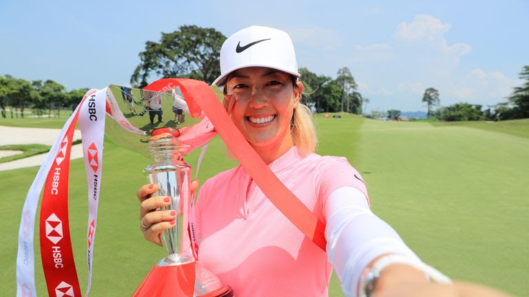 Michelle Wie ended a lengthy wait to add to her 2014 Women's US Open title