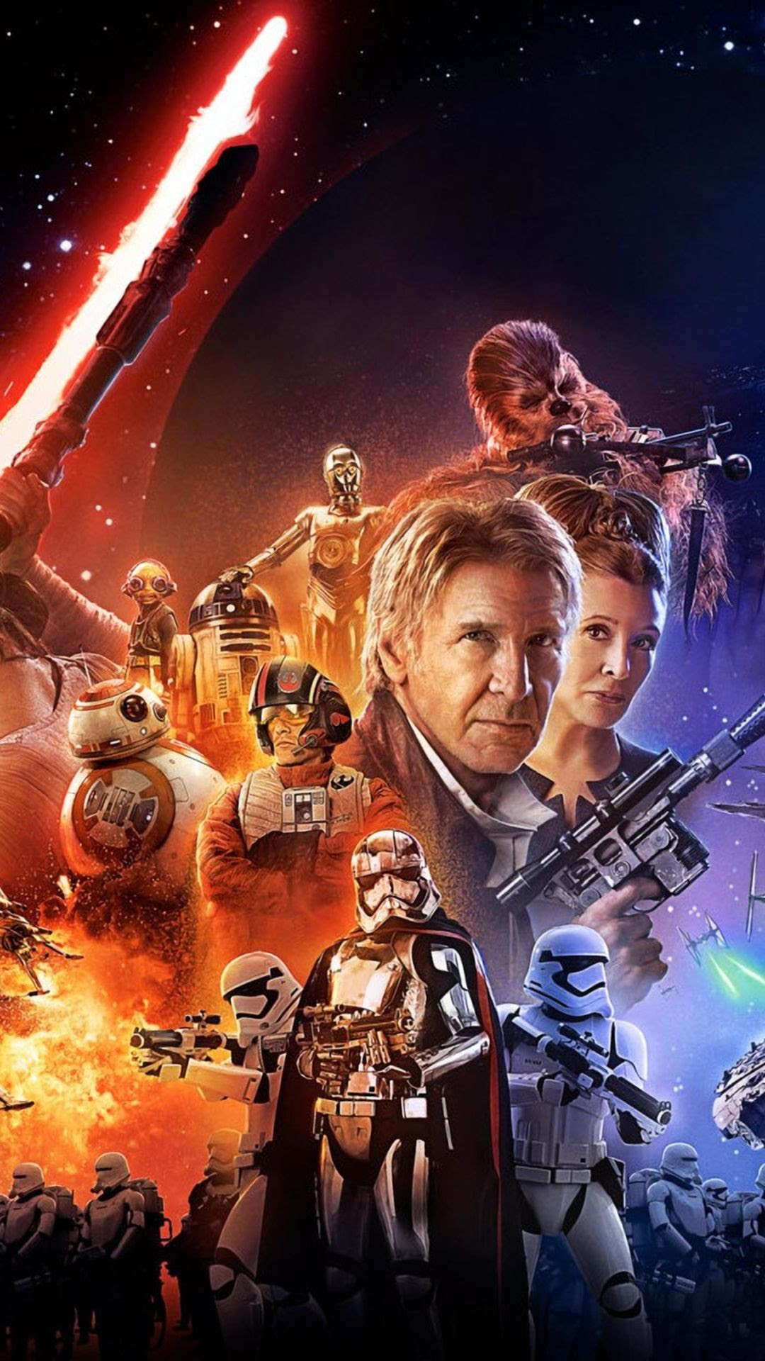 The Force Awakens Poster Wallpaper 70 Images