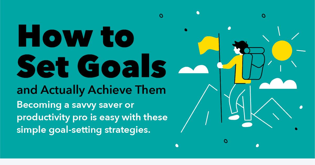Set Goals To Achieve Them