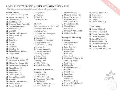 Let?s go beyond the basics! This wedding registry