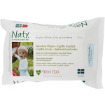Naty Sensitive Wipes Unscented 56 Wipe(s)
