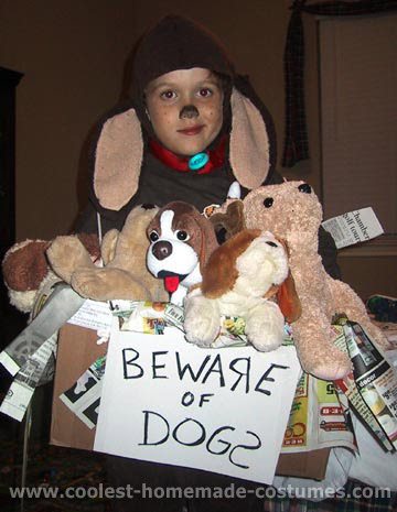 Coolest Homemade Dog Costumes