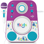 Singing Machine Kids Mood Karaoke – Purple (SMK250PB)