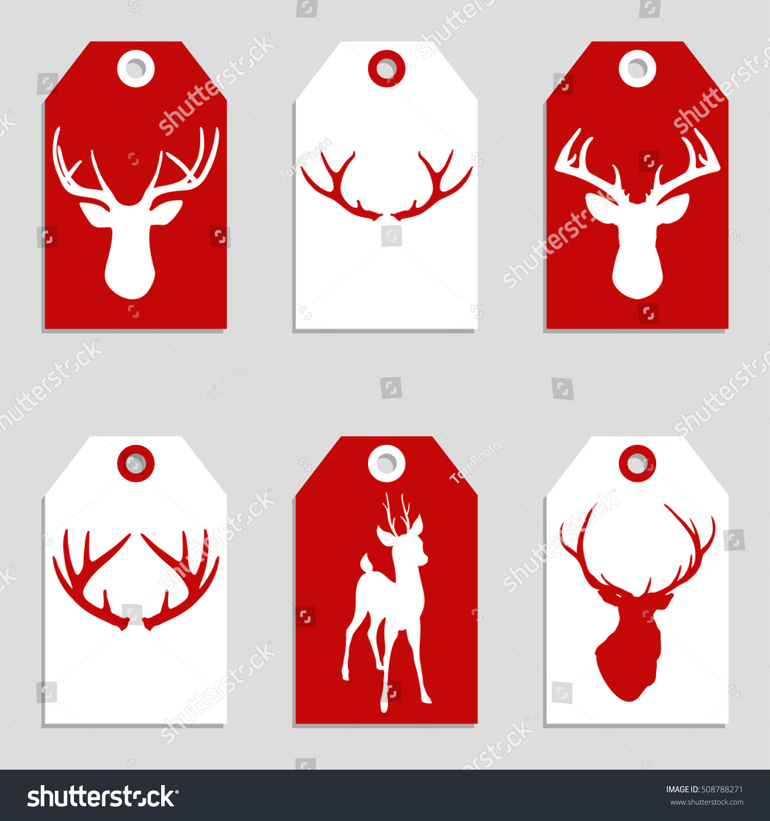 http://www.shutterstock.com/pic-508788271/stock-vector-set-of-red-and-white-christmas-and-new-year-gift-tags-with-deer-and-antlers-vector-illustration-eps-8.html?