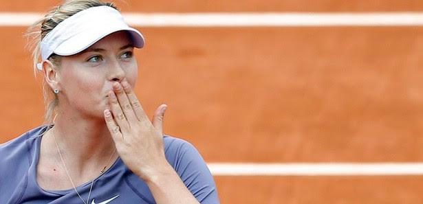 Maria Sharapova'ya 15 dakika yetti
