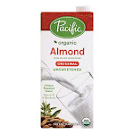 Pacific Unsweetened Original Almond Non-Dairy Beverage, 32 OZ (Pack of 12)