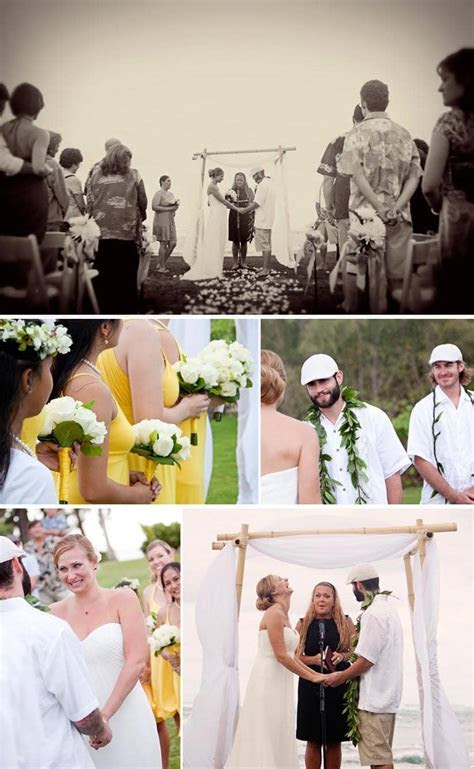 Carrie and Adam's Wedding in Haleiwa, Hawaii   Oahu