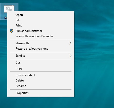 windows 10 hidden user activate 7