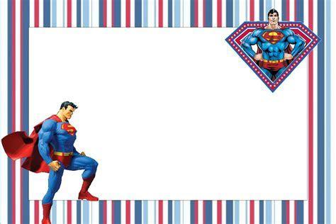 Superman Free Printable Invitations.   Oh My Fiesta! in