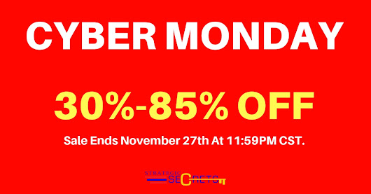 Exclusive Cyber Monday Sale