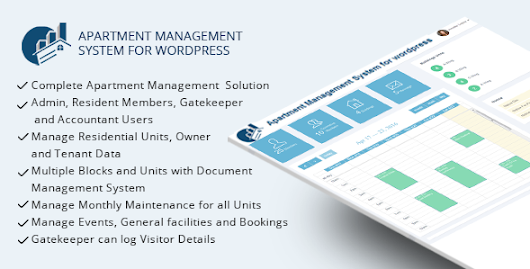 Download WPAMS - Apartment Management System for wordpress nulled | OXO-NULLED