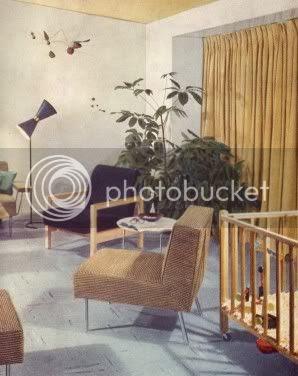 1950s Atomic Ranch House: 1950's Interior Design ll