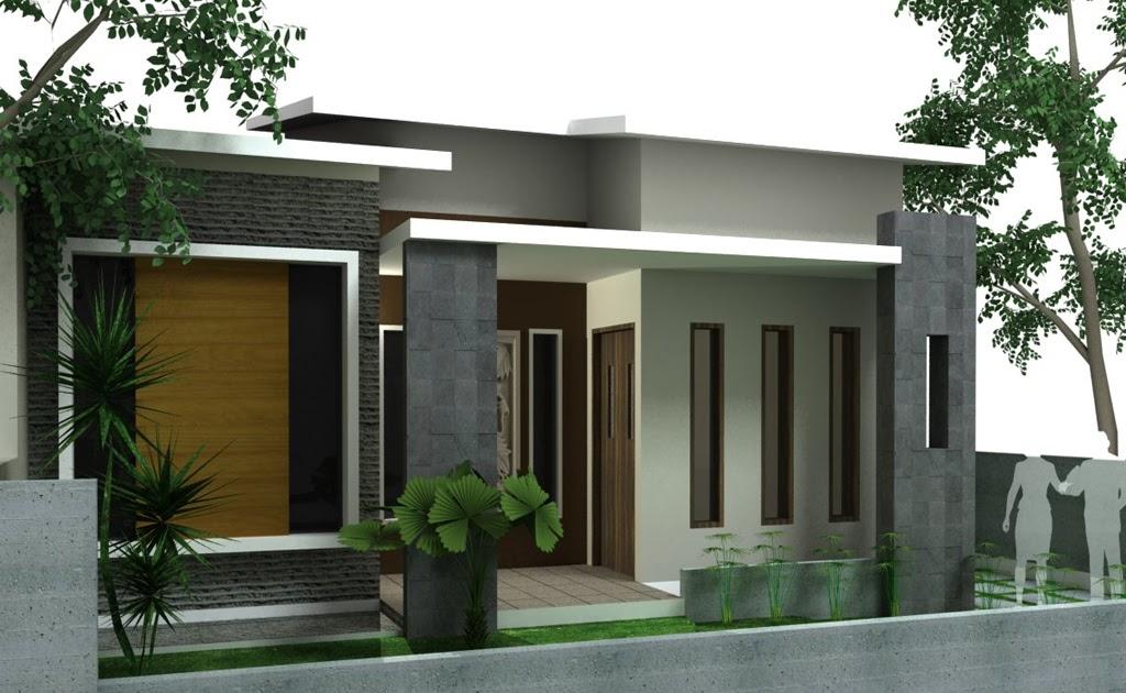 Model Rumah Minimalis Teras Depan Samping Rumahminimalis44