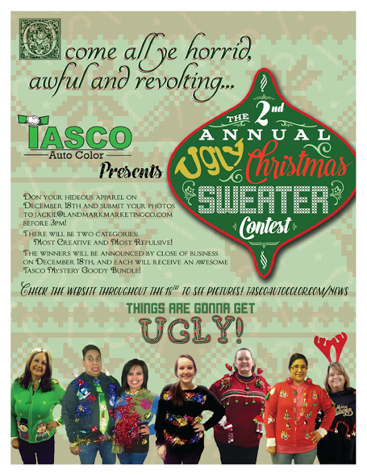 2nd Annual Ugly Christmas Sweater Contest