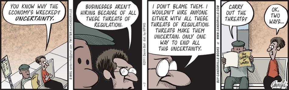 The Uncertain Economy