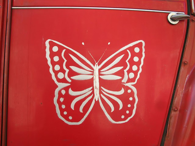Butterfly door 2CV