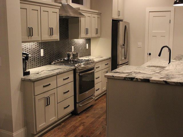 Vanilla Ice Granite Kitchen Countertops Design Ideas