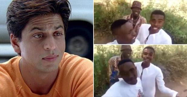 Some Nigerian Fans Croon SRK's Famous Song Of Kal Ho Naa Ho And It Will Blow Your Mind