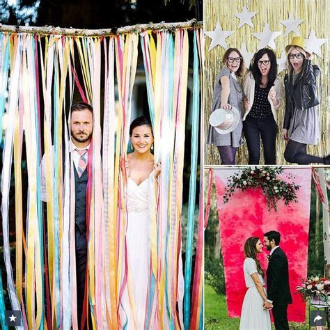 16 DIY Photo Booth Ideas for Your Wedding   Pretty Designs