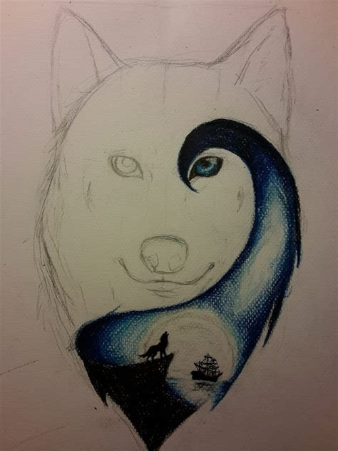 wolf drawings ideas  pinterest awesome