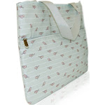 XO Eco (Eco) Laptop Bag Birds on A Wire Clearance Priced