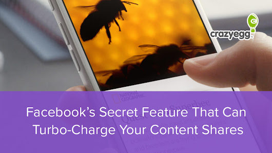 Facebook's Secret Feature That Can Turbo-Charge Your Content Shares