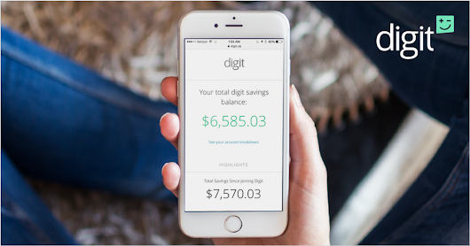 Save money, without thinking about it™ - Digit