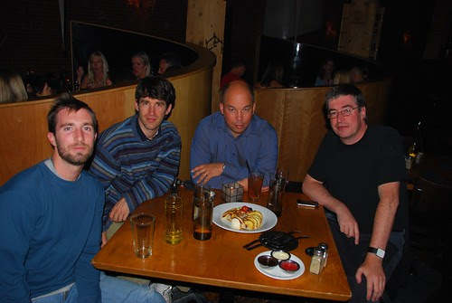 Inaugural dinner for Spatial Networking