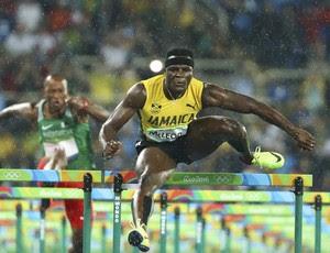 Omar McLeod.  110m com barreiras, baterias 01 (Foto: Reuters)