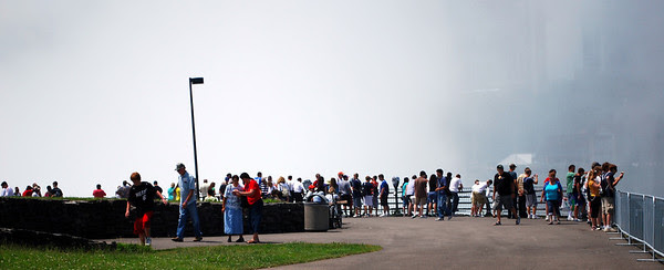 Tourists at Terrapin Point