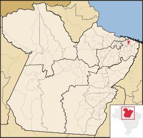 Localização de Capanema