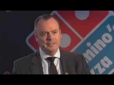 Domino's CEO Don Meij New Menu
