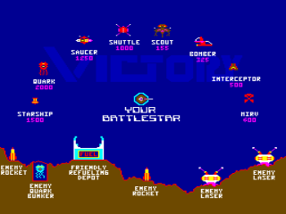 Exidy Victory Screenshot