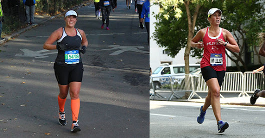 Crossing the Finish Line 25 Pounds Lighter