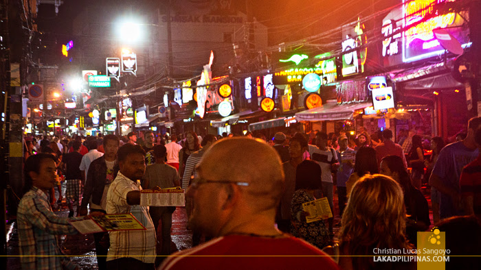 The Crazy Bangla Road at Phuket's Patong Beach