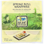 Blue Dragon Wrappers; Spring Roll - 4.7 oz - Pack of 12