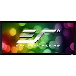 Elite Screens SableFrame 2 Series Projection Screen - Black