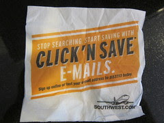 Southwest Airlines Email Marketing - Napkin Ca...