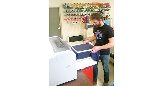 Dana Shirt Shop: Technology Trends in Apparel: DTG Printing Goes Digital - Cascade Business News
