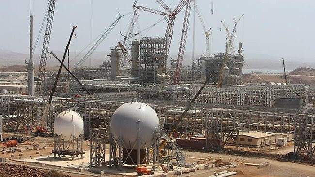 Pluto LNG project, liquefied natural gas, Woodside