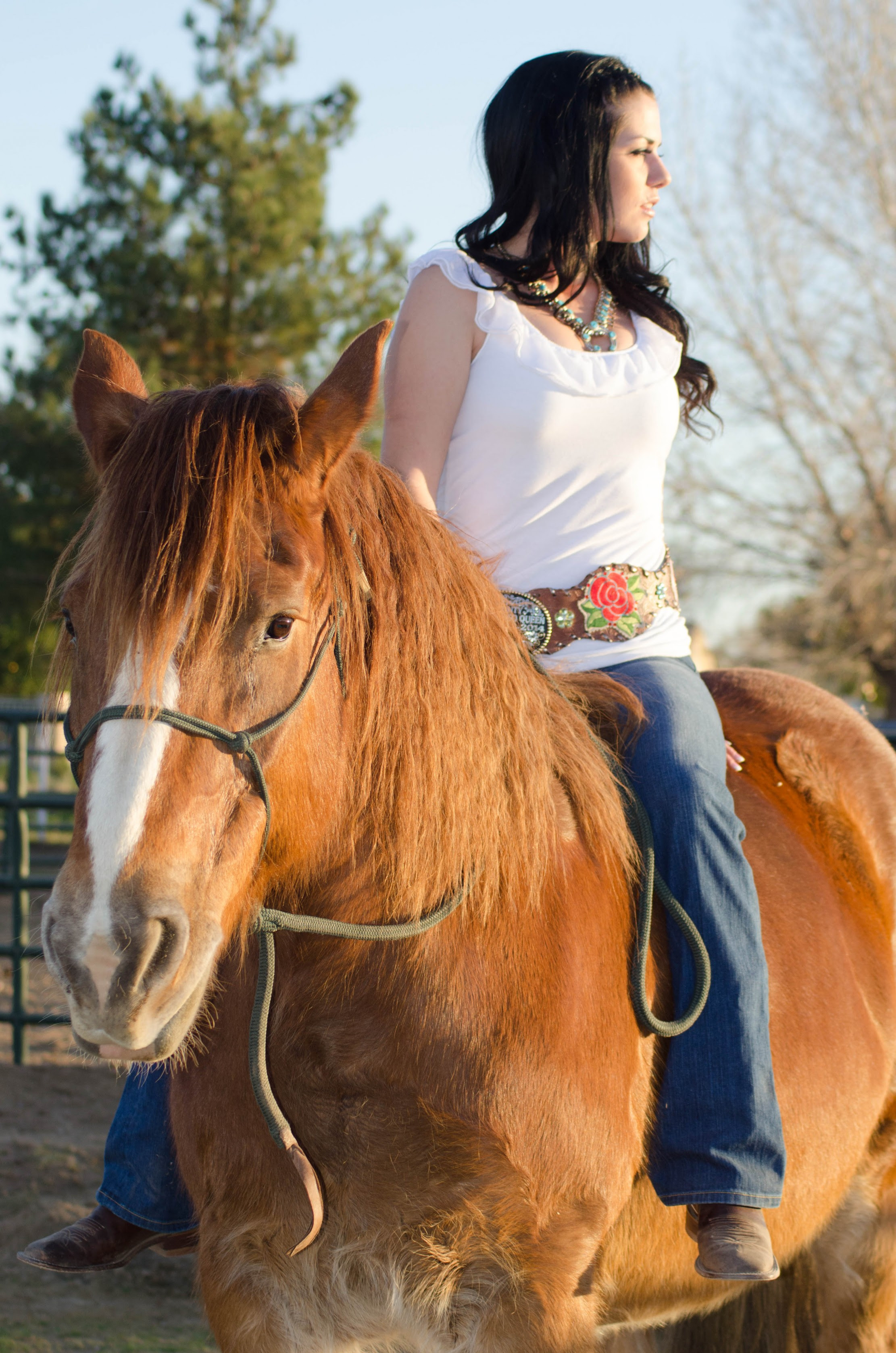 cowgirl style inspiration featuring bullet blues american